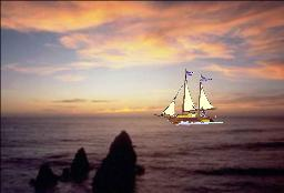 Sailboat & Sunset